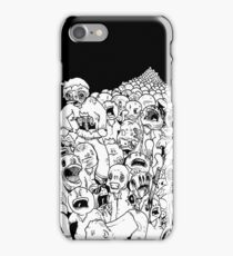 Zombie Mob iPhone Case/Skin