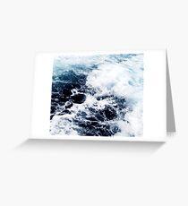 Sea water Greeting Card