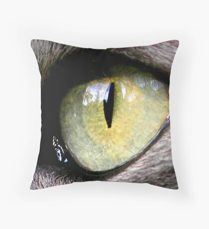 Jimmy's Eye Throw Pillow