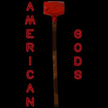 American Gods Czernobog Hammer by TheDael