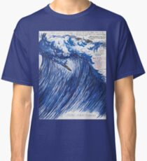 RAYMOND PETTIBON , Untitled (Going with the flow) , 2000 Classic T-Shirt