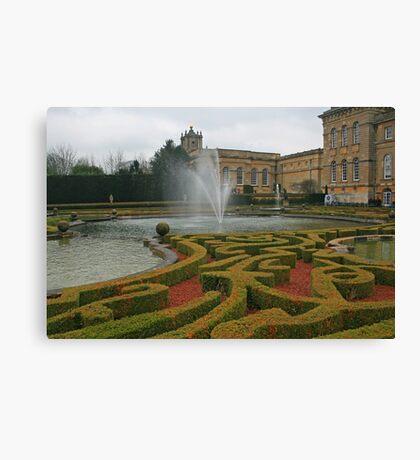 Water Terraces Canvas Print