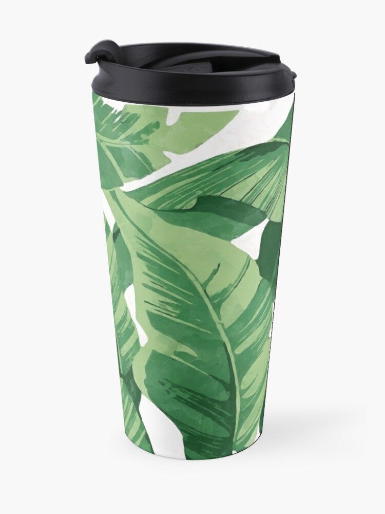 Alternate view of Tropical banana leaves II Travel Mug