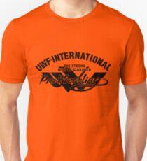 UWFi Script variant (black) Unisex T-Shirt