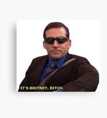 It's Britney... Canvas Print
