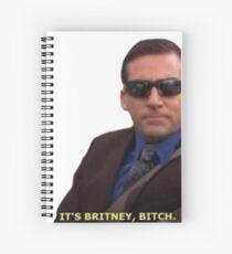 It's Britney... Spiral Notebook