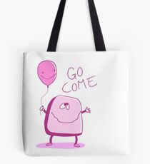 Go Come Toast and Balloon Tote Bag
