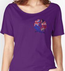 AUSTRALIA BRITAIN WOLF LOVE Women's Relaxed Fit T-Shirt
