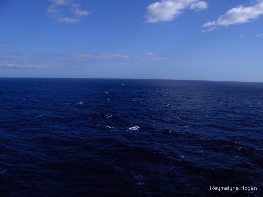 open ocean by Reymalyne Hogan