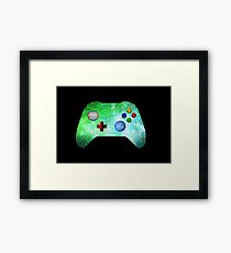 out of this world gamer  Framed Print