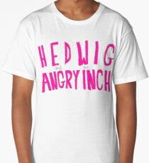 Hedwig and the Angry Inch (Pink Logo) Long T-Shirt