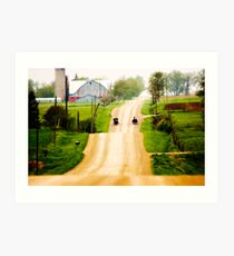 outside St. Jacobs # 4 Art Print