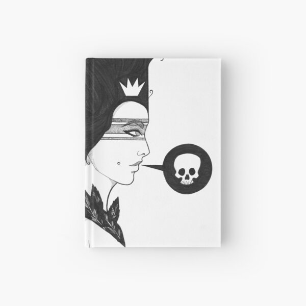 Scratched Out Hardcover Journal