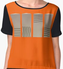 Fifth Element - Earth Fire Wind and Water Chiffon Top