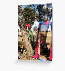 PSYFLECTIVE FAIRY : RAINBOW SERPENT FESTIVAL '08 : Decor & Installations Greeting Card