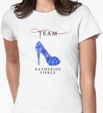 Katherine Pierce Team - The Vampire Diaries Womens Fitted T-Shirt