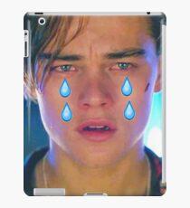 Leo Cryin' Emoji Tears iPad Case/Skin