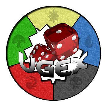 UGEX Group Logo- Light by PANDISTUDIOS