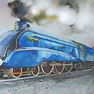 A4 4468 Mallard by JohnLowerson