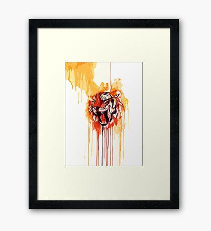 Roar I Framed Print