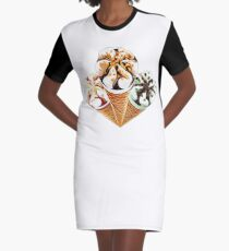 Vestido camiseta Trilogía Cornetto
