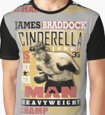 JAMES BRADDOCK Graphic T-Shirt