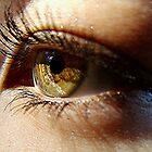 Hazel Eyed Girl by © Loree McComb