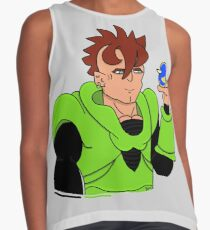 Android 16 (Dragon Ball) Contrast Tank