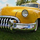 Bright Yellow Buick by Vicki Spindler (VHS Photography)