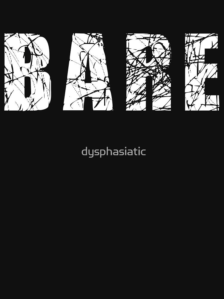 Bare logo by dysphasiatic