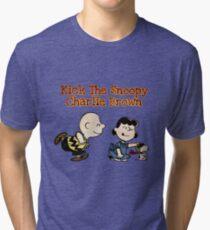 Snoopy Charlie Brown (Peanuts)  Tri-blend T-Shirt