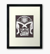 I Am The Jaw Framed Print