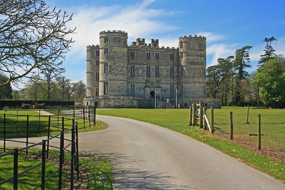 Lulworth Castle by RedHillDigital