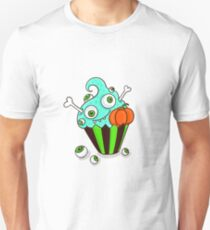 Funny zombie cupcake Unisex T-Shirt