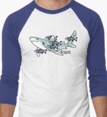 Oceanic Whitetip Squad Men's Baseball ¾ T-Shirt