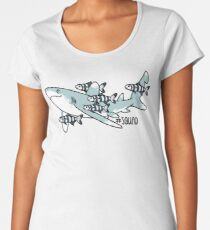 Oceanic Whitetip Squad Women's Premium T-Shirt