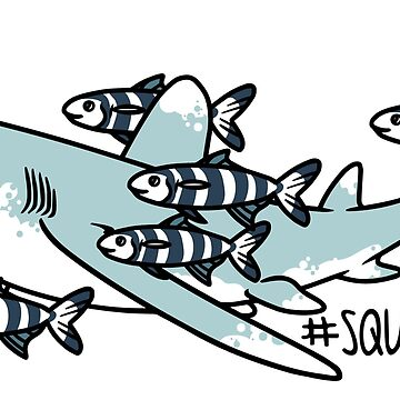 Oceanic Whitetip Squad by jenrichards