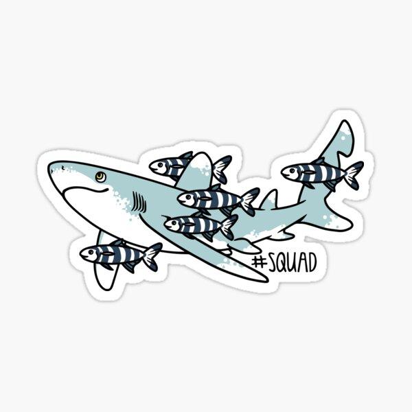 Oceanic Whitetip Squad Sticker