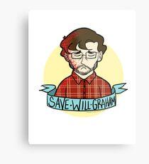 Save Will Graham Metal Print