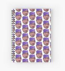 Pri$on Mik3 Spiral Notebook
