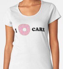 i do-nut care Women's Premium T-Shirt