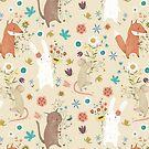 Bunch of Flowers by Judith Loske