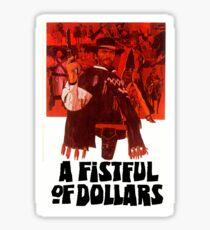 A Fistful of Dollars Sticker