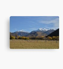 Scenic mountain landscape Canvas Print