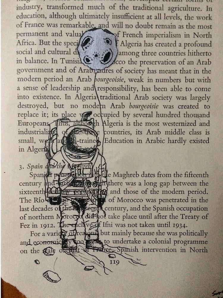 The Astronaut's Balloon  by JustArtandStuff