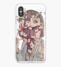 Shintaro Kago iPhone Case/Skin