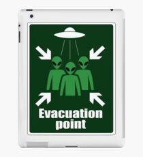 Alien Evacuation Point iPad Case/Skin