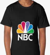 NBC Logo - White Long T-Shirt