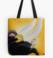 Niffler  with Golden Snidget Painting Tote Bag