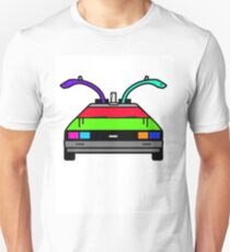 Back To The Future - Delorean Time Machine T-Shirt
